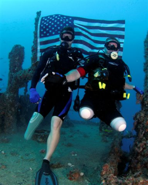 Disabled Divers Advanced Certification