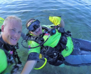 Diving Therapy Program - Certified Diver